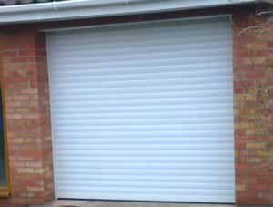 Remote controlled Roller Door installation